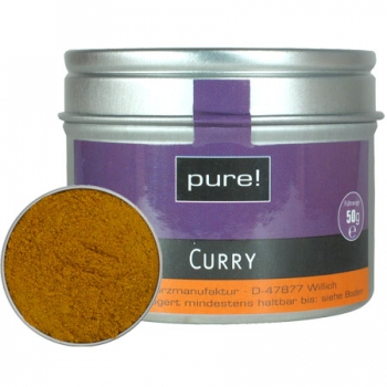 pure gewürze Curry India 50 g